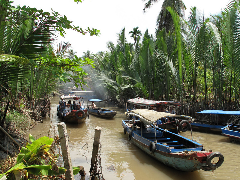 My Tho area of the Mekong Delta - Saigon