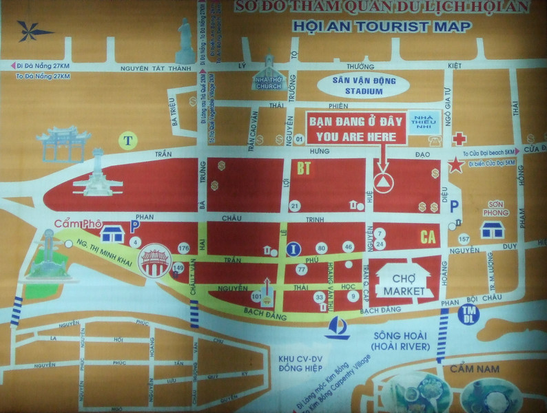 Hoi An Yourist Map