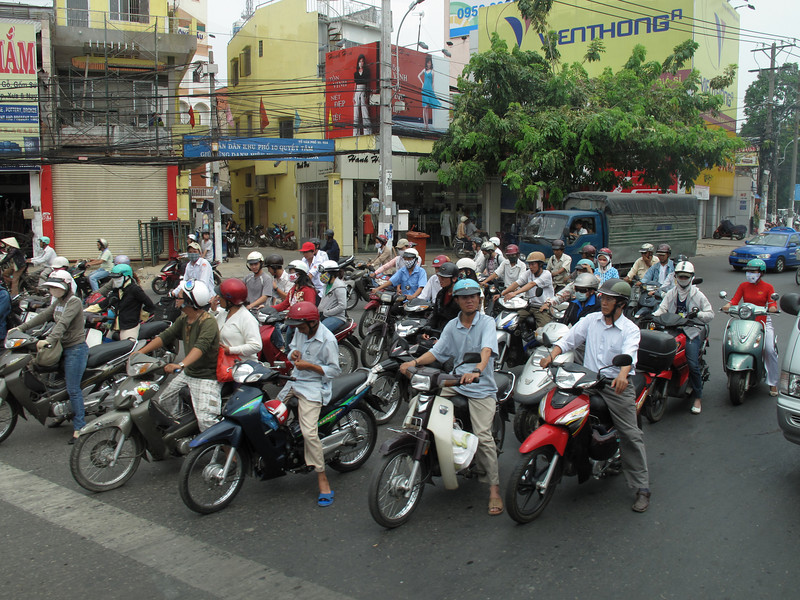 Life on the Streets of Saigon