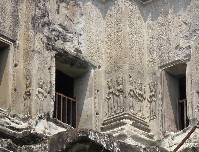 Ornamental Details at Angkor Wat