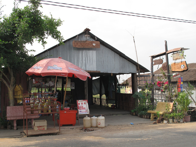 Roadside Resturant and Gas Station (Johnnie Black Bottles) Cambodia