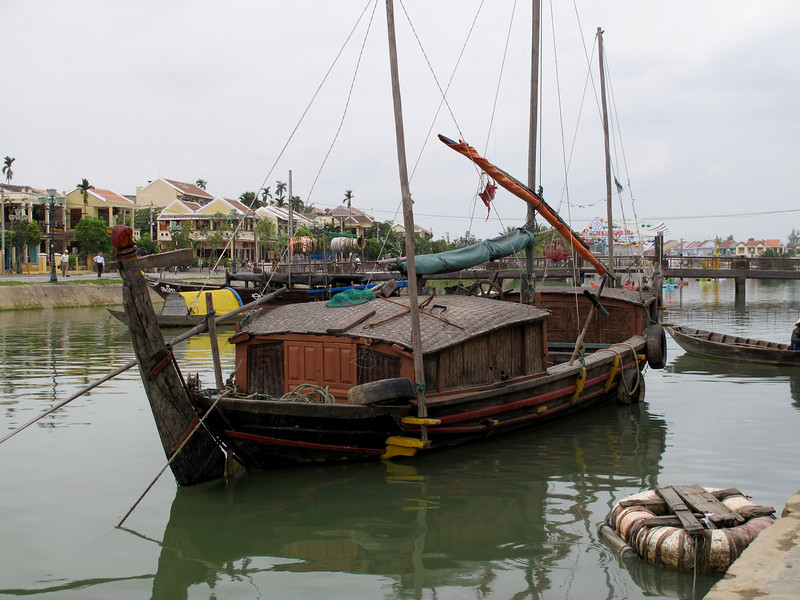 On the Water in Hoi An Old Town - Vietnam