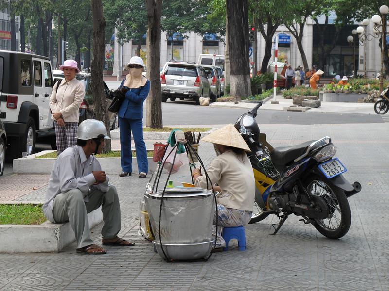 On the Street Life in Saigon