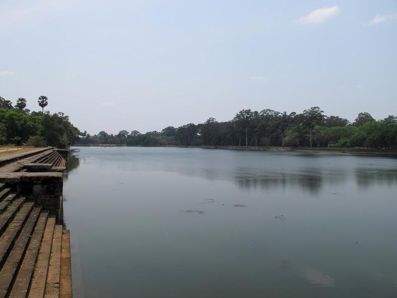 Moat at the North of Angkor Wat