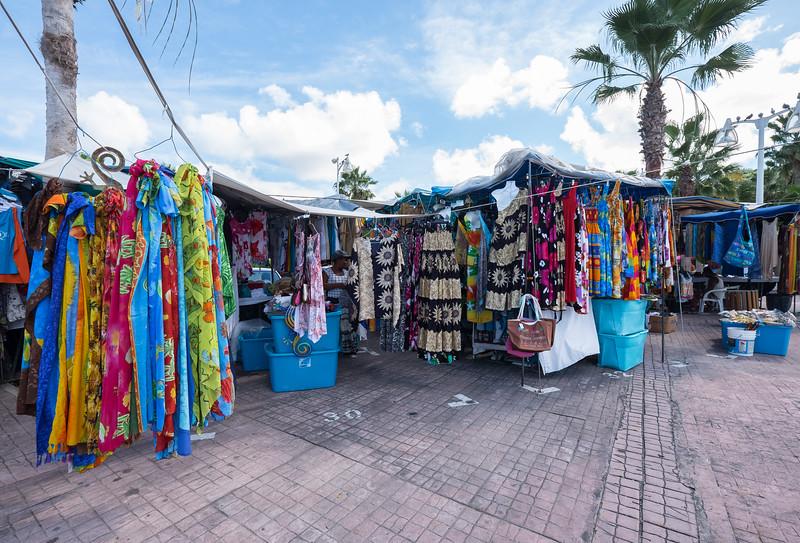 Shopping in Marigot, St. Maarten.