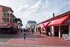 Tourist walk to the Regatta, St. John's, Antigua.