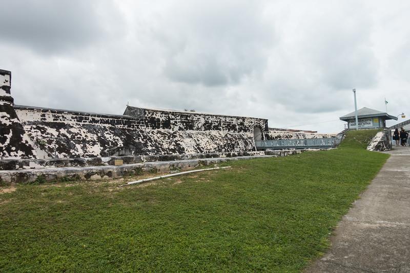 Entrance to Fort Charlotte, Nassau.