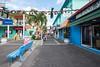 In town, St. John's, Antigua.