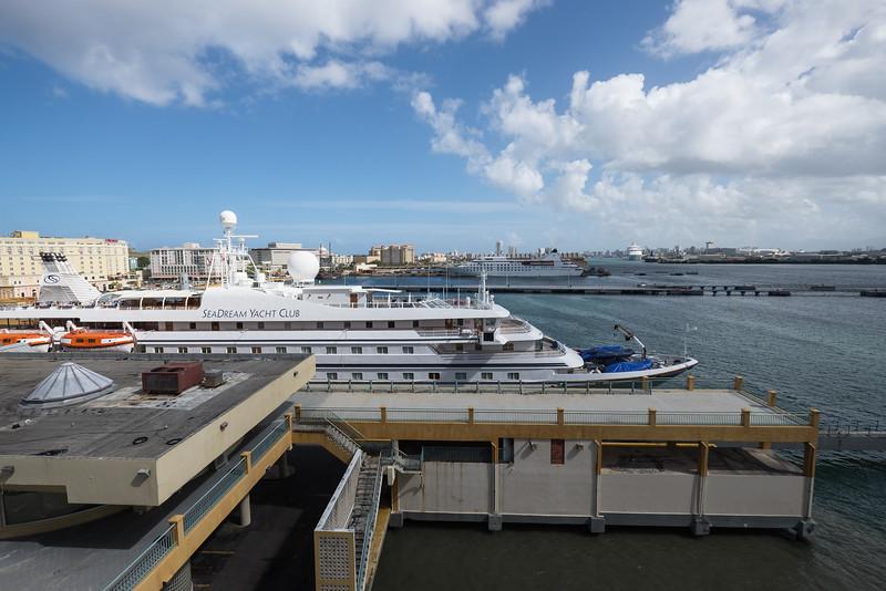 Docked In Harbor, San Juan, Puerto Rico.