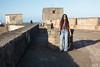Upper bastian of San Cristobal Fort in San Juan.