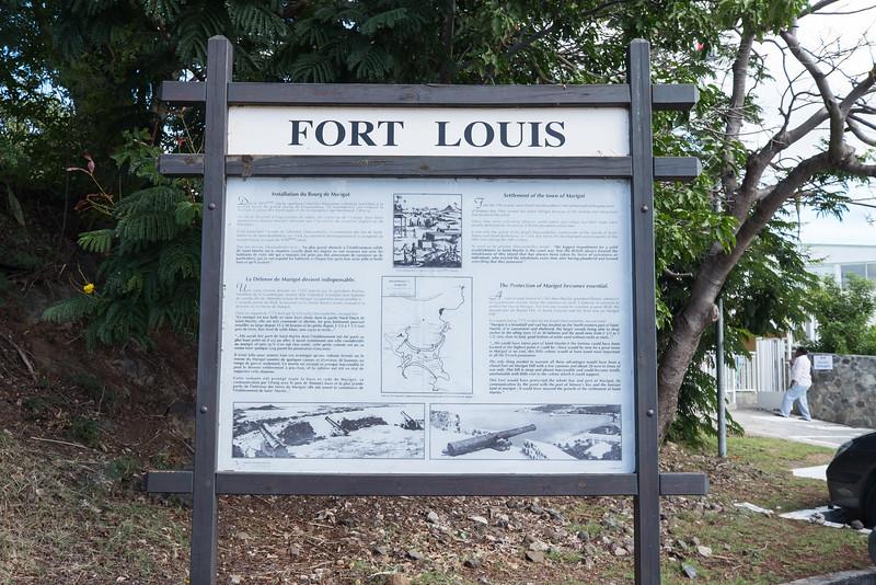Fort Louis, St. Maarten.