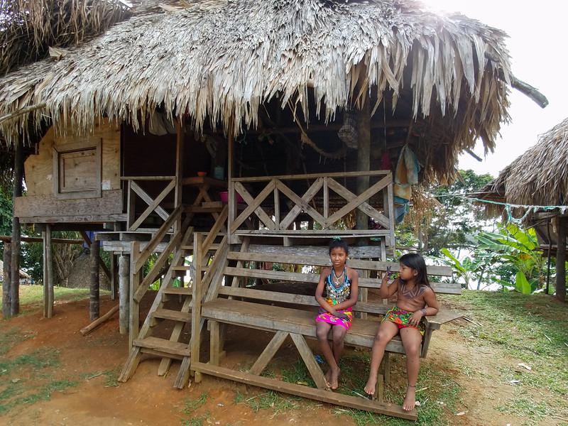 Embara native people of Panama.