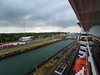 In the first Gatun Lock looking at the second.