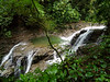 The Puma Waterfall in the Varagua Rainforest, Costa Rica.