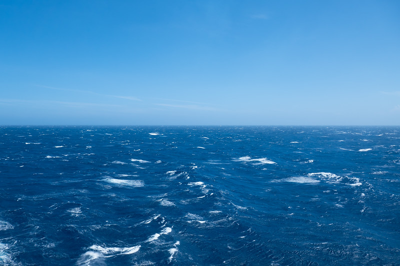 Higher seas and gusty winds on the way to Panama.
