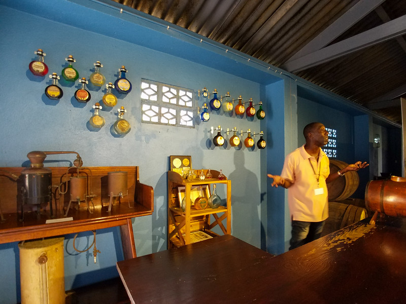 A talk about the manufacture of the Curacao spirits.