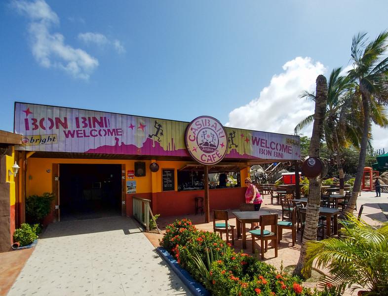Welcome to the Casibari Cafe on Aruba.