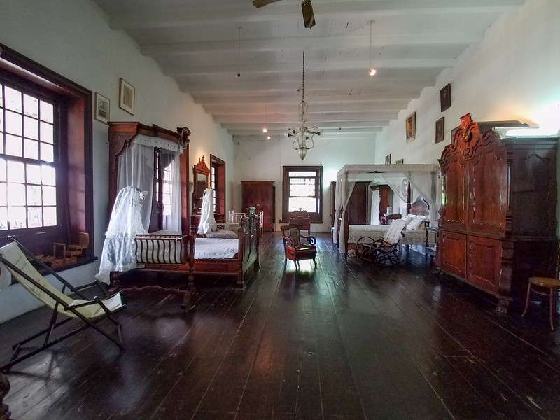 Mohagany furniture featured at the Curacao Museum.