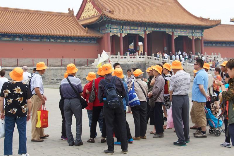 Orange Hats