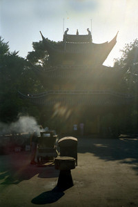 The Longhua Temple in Shanghai. ... August 7, 2004 ... Copyright Robert Page III