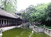 Pond on the grounds of the White Emperor Town