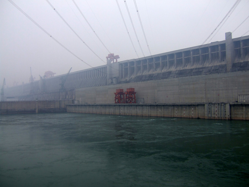 The Hydroelectric Dam on the Yangtze