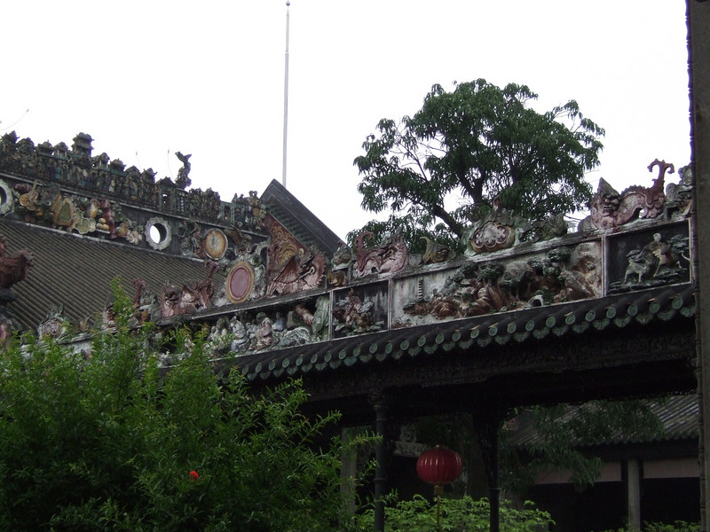 Ornamental work in the Chen Family Temple