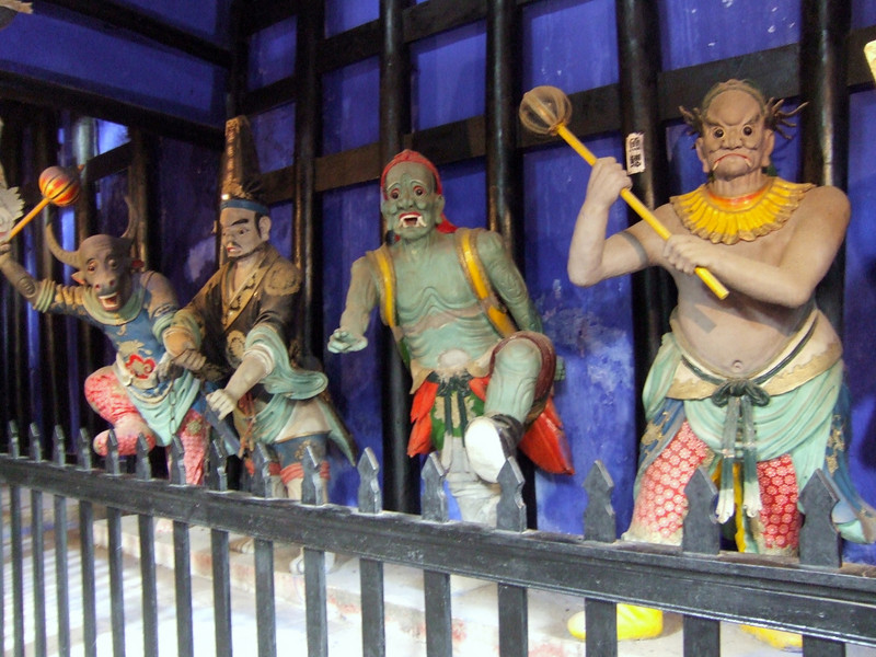 Assorted deities at Feng-Du - the Ghost City