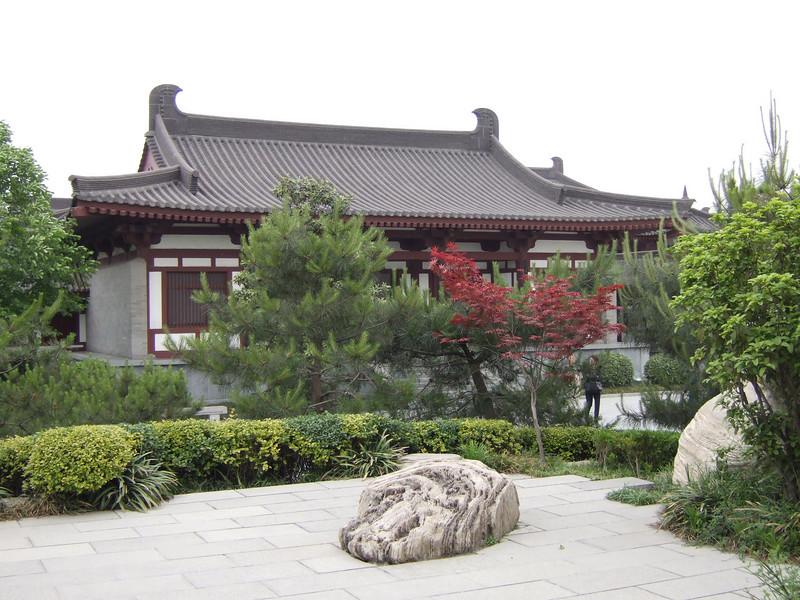 Goose Pagoda garden area in Xian