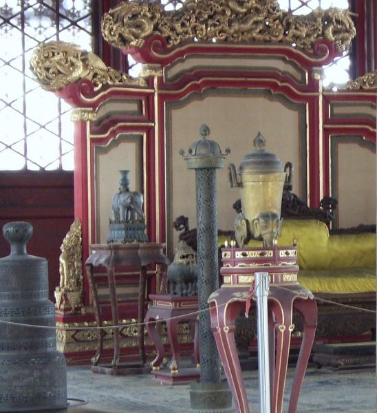 Quarters inside the Forbidden City