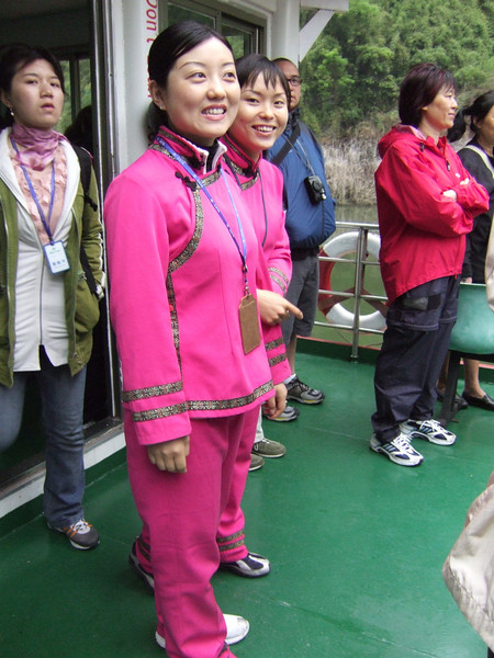 "Guides for our side excursion to see the ""Ba"" Coffins and Red Dragon Temple"
