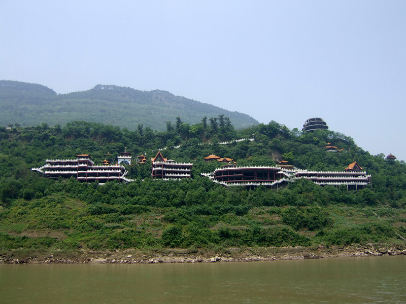a waterfront resort to be on the Yangtze