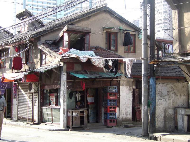 Store in Shanghai Residential Area