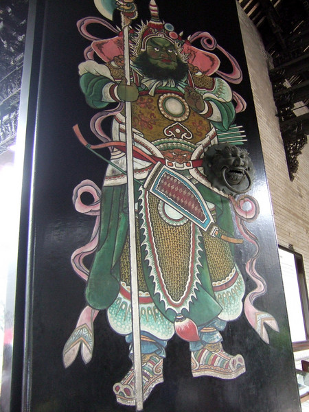 Decorated entrance doors - Chen Family Temple