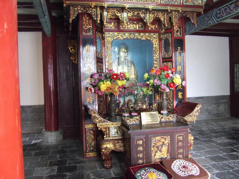 Goose Pagoda grounds in Xian