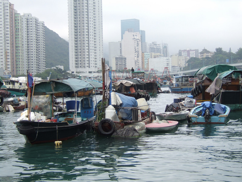 Floating Village of Aberdeen - Hong Kong