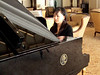 Piano Player at the New Century Hotel in Shanghai