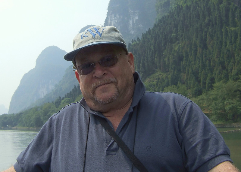 Tourist on the Li River