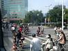 Going to work in Hangzhou