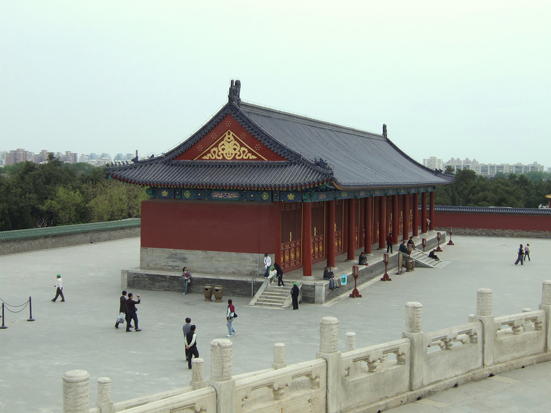 Temple of Heavenly Peace grounds - taken from Temple of Prayer of Good Harvests