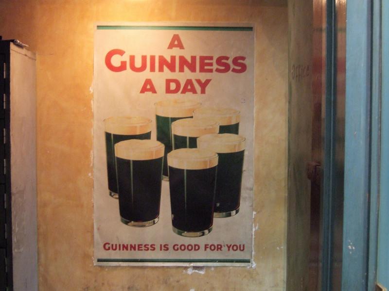 inside an Irish Pub in Hong Kong