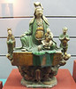 Tri-coloured Skt. Avalokitesvara - Ming Dynasty (1368 - 1661)