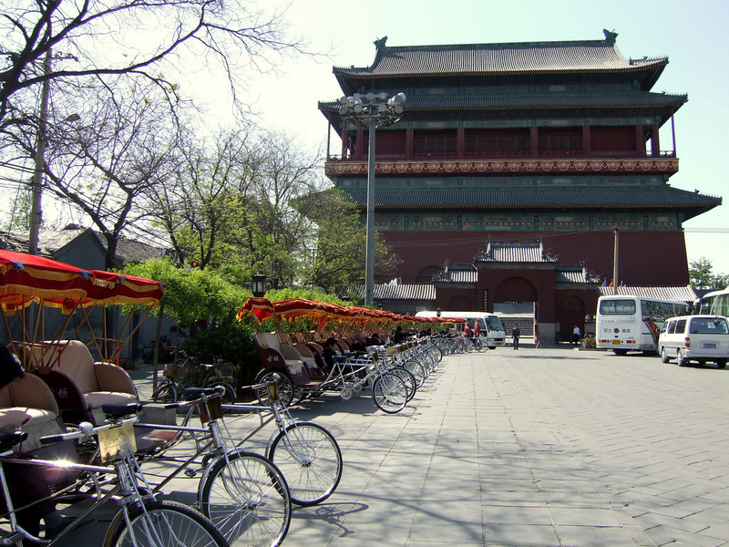 Entrance to Drum Tower area