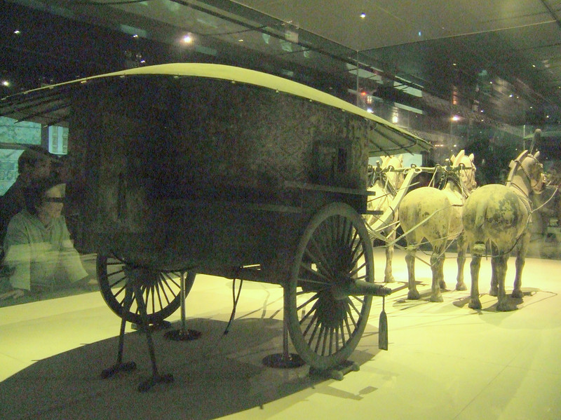 Terra-cotta Warrior Chariot with Team