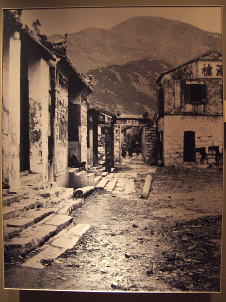 Picture of old Hong Kong at the History Museum