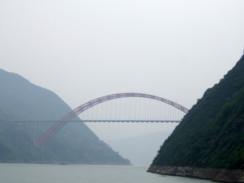 Bridge across the Yangtze