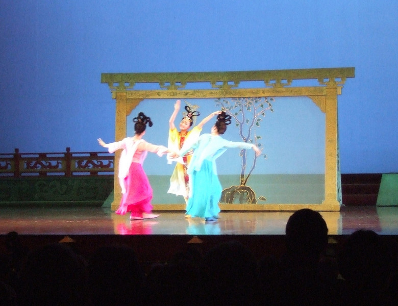 Tang Dynasty Stage Show - Day 6 in Xian