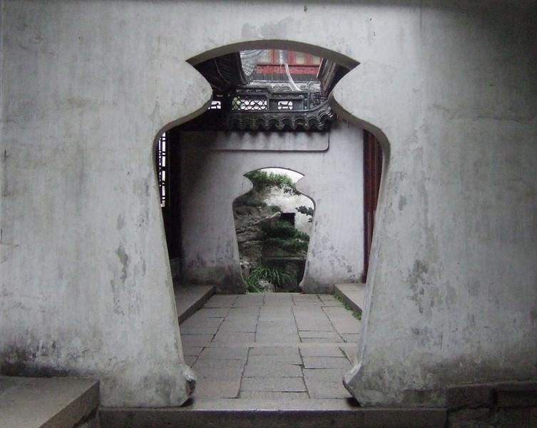 Inside Yu Gardens - Shanghai