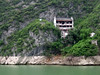 House ready for demolition on the Yangtze