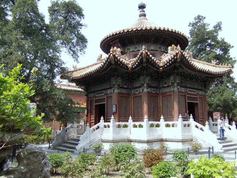 Small building in Forbidden City Gardens